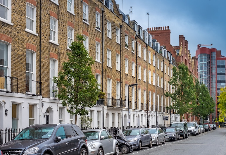 Marylebone Apartments, London, Fassade der Unterkunft