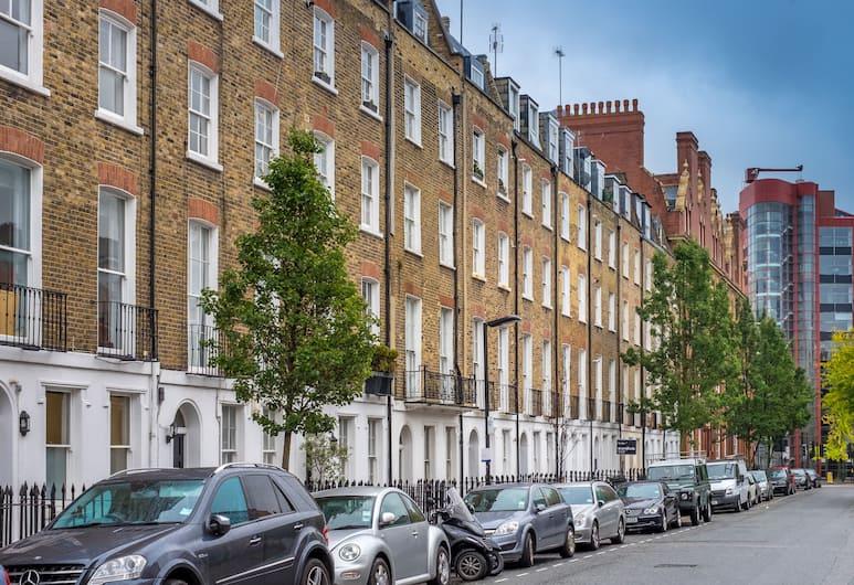 Marylebone Apartments, London, Boendets framsida
