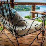 Luxe tent, uitzicht op meer - Balkon