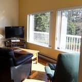 Suite Panorama, 2 kamar tidur, teras, menghadap laut - Ruang Keluarga