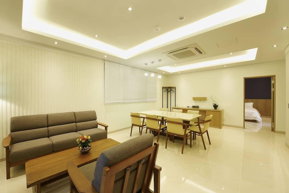 Familie suite - Woonkamer