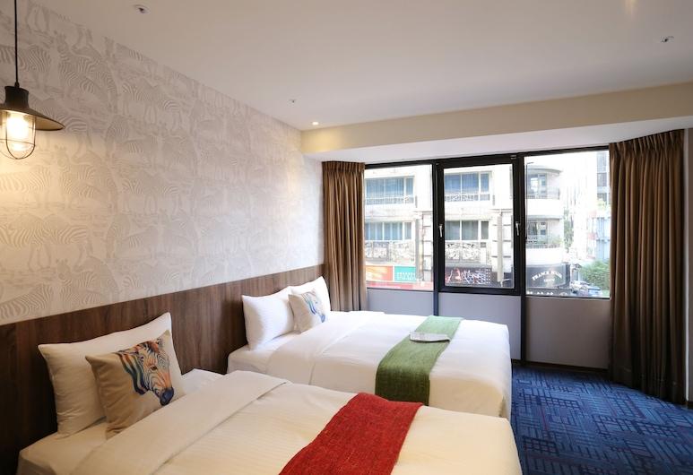 ARK Hotel-Chang'an Fuxing, Taipei, Driepersoonskamer, Uitzicht vanaf kamer