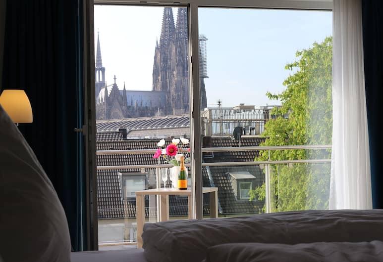 Haus am Dom, Köln, Superior Apart Daire, Şehir Manzaralı, Oda manzarası