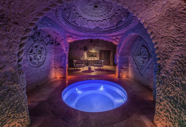 Kapadokya Hill Hotel & Spa (12+), Nevsehir, Harem Cave Suite, Tab Mandi Berpancutan