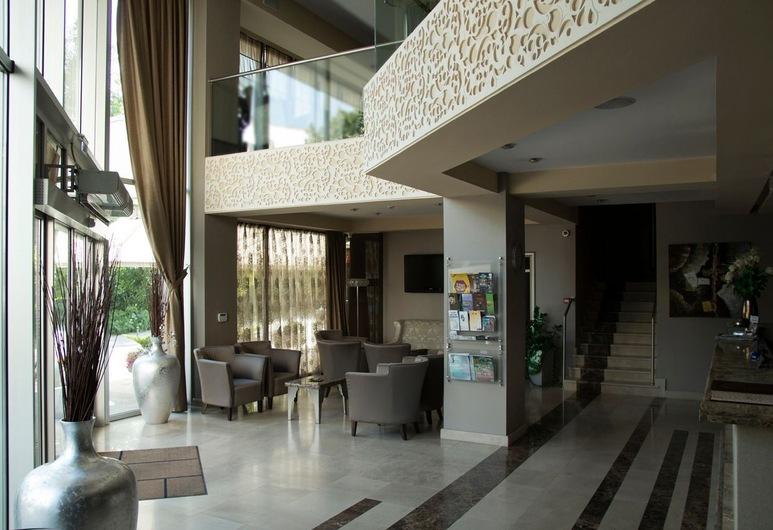 Queen's Hotel, Skopje, Aspecto interior del hotel
