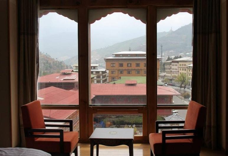 Thimphu Tower, Thimphu, Camera Deluxe con 2 letti singoli, 1 camera da letto, Vista balcone