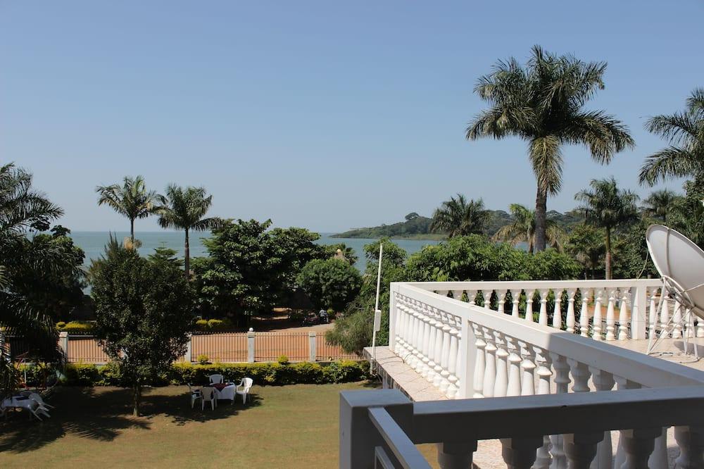 Habitación Deluxe con 2 camas individuales, vista al lago - Balcón