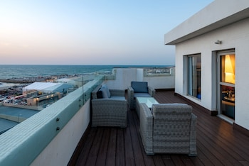 Nuotrauka: Port and Blue TLV Boutique Suites Hotel, Tel Avivas