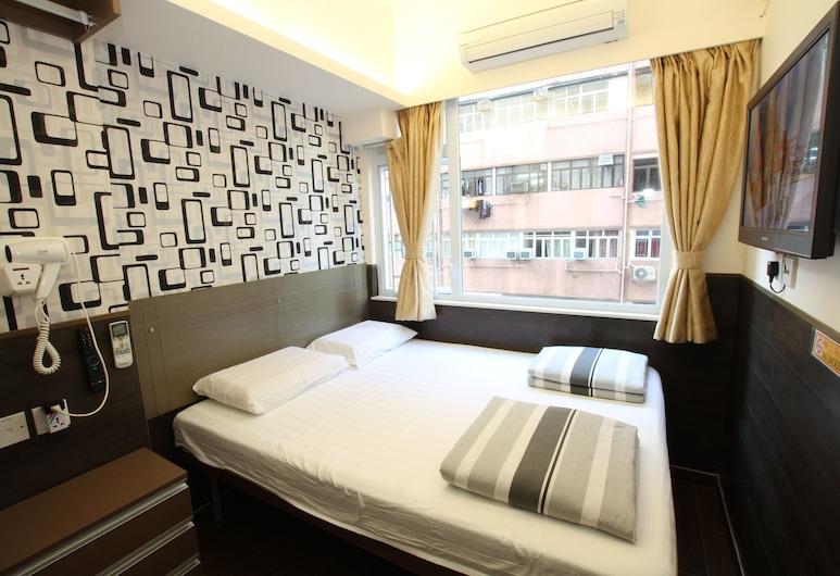 旅館大華精品旅店, 尖沙咀, 高級雙人房, 城市景, 客房