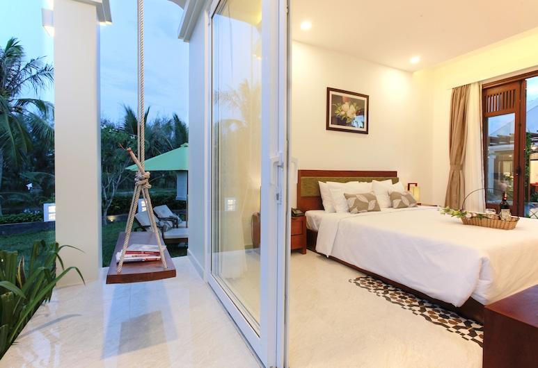 Green Boutique Villa, Hoi An, Deluxe Room, Balcony, Garden View, Guest Room