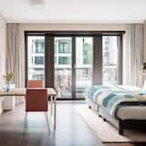 Estudio Deluxe, 1 cama de matrimonio, cocina - Habitación