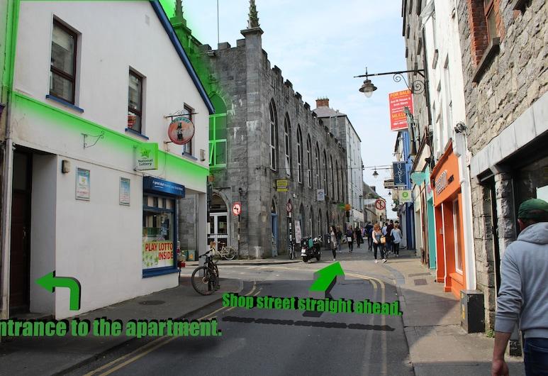 No. 1 Middle Street, Galway, Eingangsbereich