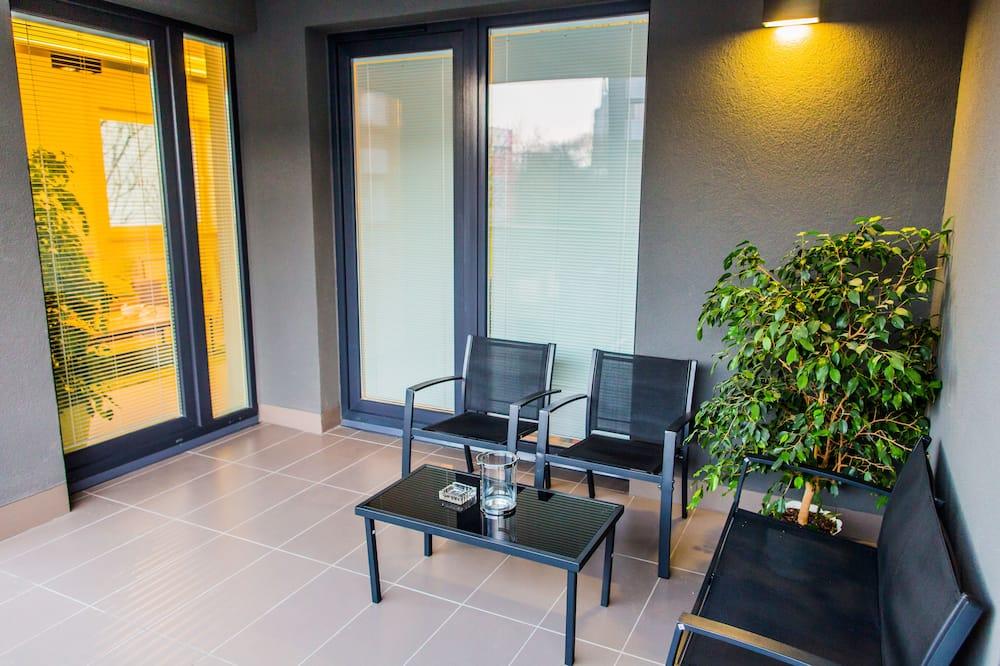 Apartamentai, 1 miegamasis (Kiwi) - Balkonas