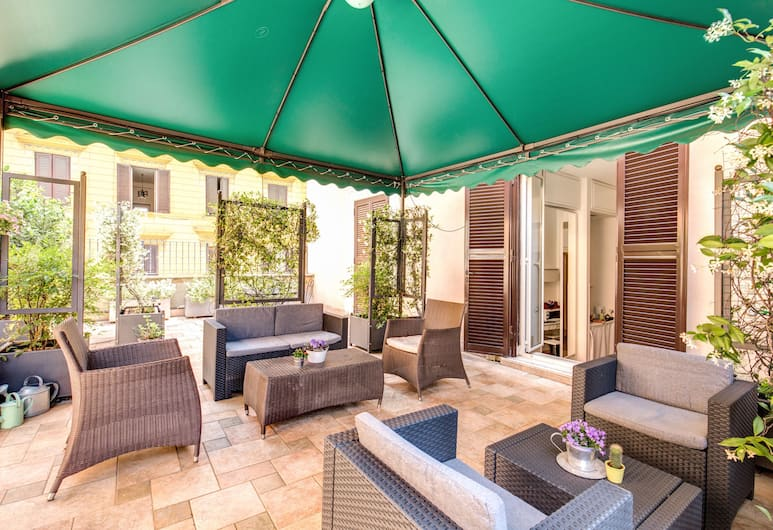 Ecce Roma Suites, Roma, Terrazza/Patio