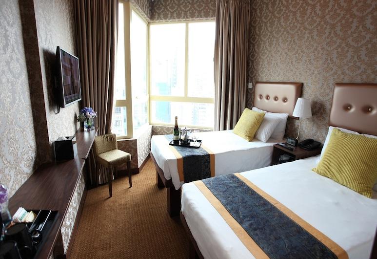 Grand City Hotel, Hong Kong, Izba typu Superior s dvojlôžkom alebo oddelenými lôžkami, Hosťovská izba