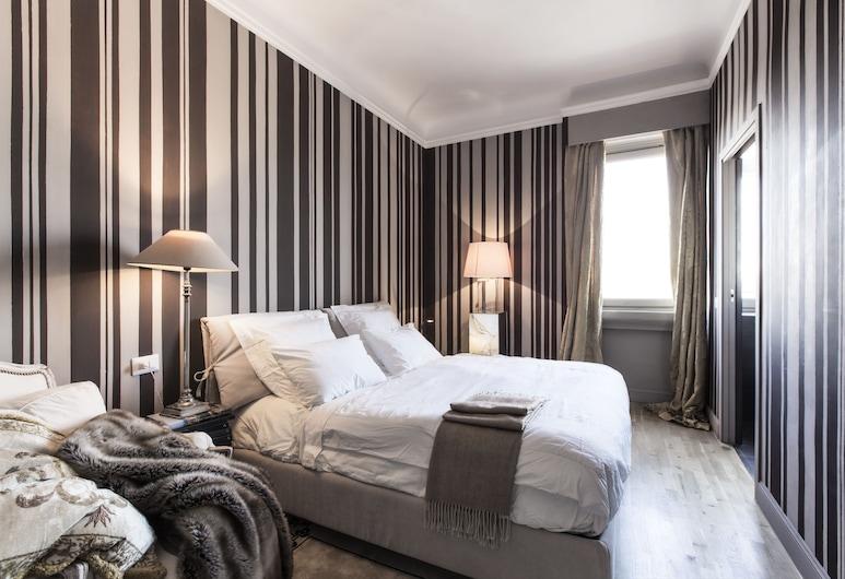 Pattini Guest House, Milaan, Tweepersoonskamer, en-suite badkamer, Uitzicht op de stad, Kamer