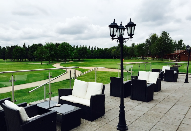Calderfields Golf & Country Club, Walsall, Terasa restaurace