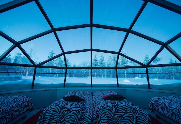 كاكسلاوتانين آركتيك ريزورت, سودانكيلا, Large Glass Igloos (4 Persons, West Village), الغرفة