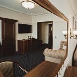 Luxe suite, 1 slaapkamer - Woonruimte