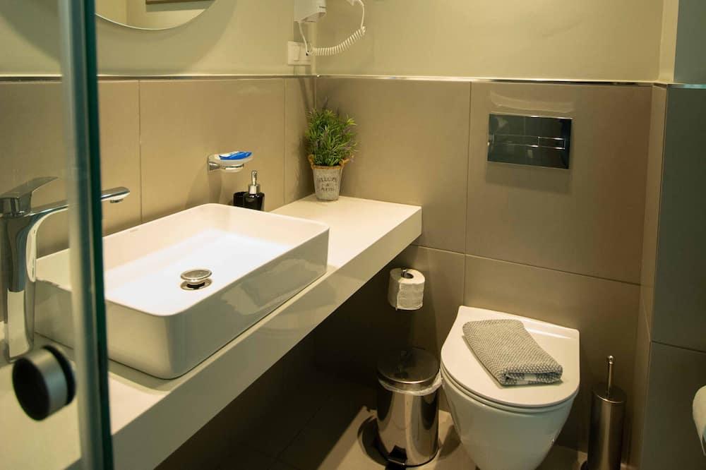 Chambre Double Supérieure, vue mer - Salle de bain