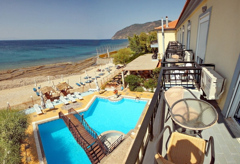 Pebble Beach Hotel, Lesbos, Superior Residence with Sea View, Výhled na vodní plochu