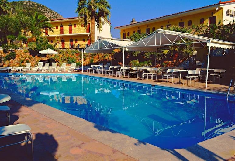 Mytilana Village Hotel, Λέσβος, Εξωτερική πισίνα