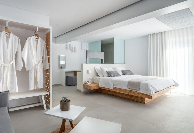 Kantouni Beach Boutique Hotel, Kalymnos, Junior Suite, Sea view, Kamer