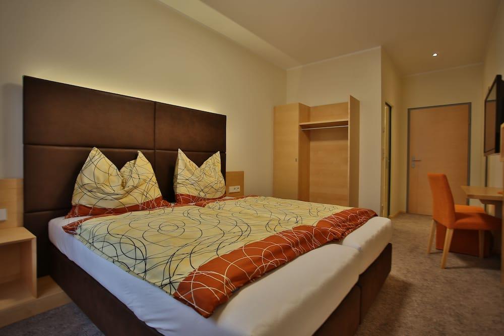 舒適雙人或雙床房, 城市景 - 客廳