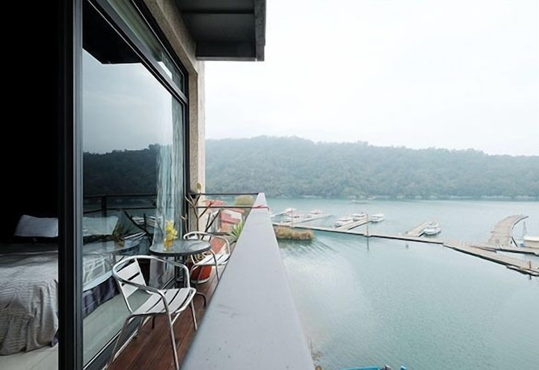 日月潭湖景渡假旅店, 魚池鄉, 陽台