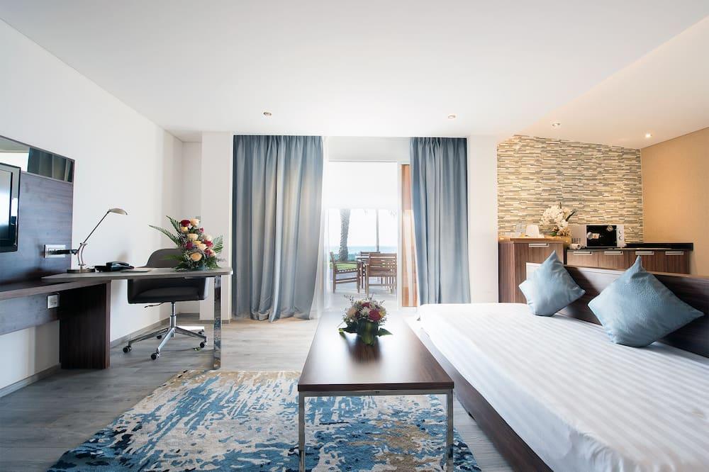 One-Bedroom Villa with Garden View  - Living Area