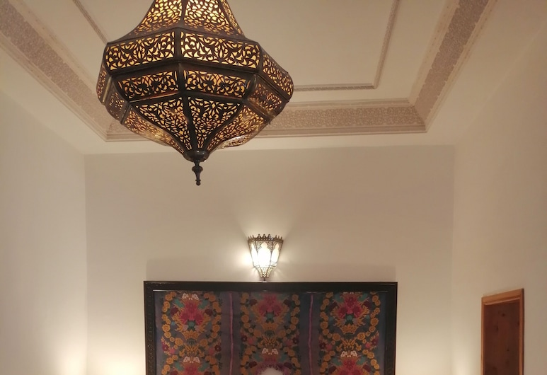 Riad Boustan, Fes, Traditional Triple Room (Orangerie), Guest Room