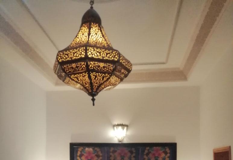 Riad Boustan, Fez, Kamar Triple Tradisional (Orangerie), Kamar Tamu