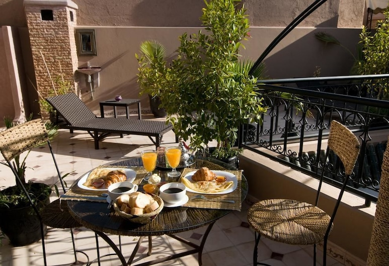 Riad Agdim, Marrakech, Terrasse/patio