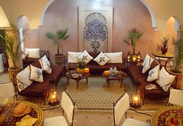Riad Ailen, Marrakech, Lobby lounge