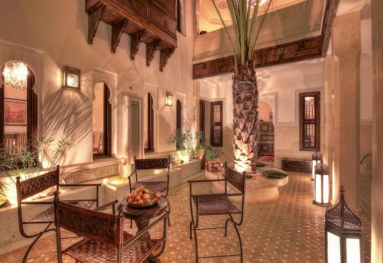 藝術田園庭院酒店, 馬拉喀什, 庭園