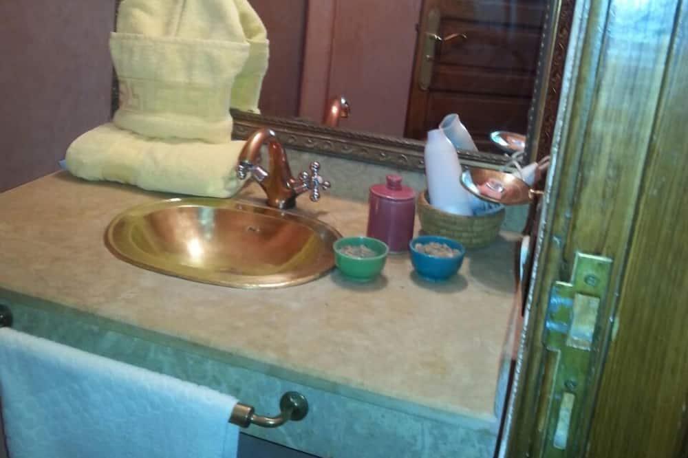 Dobbeltværelse (Schanez) - Badeværelse