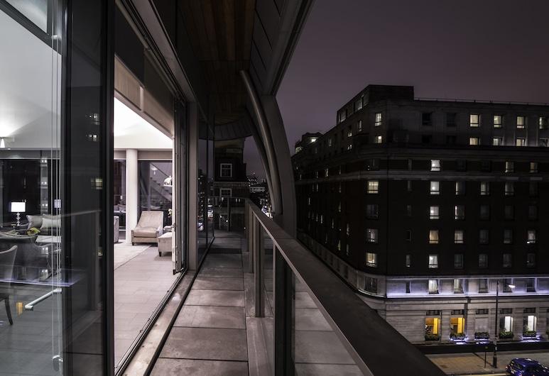 Chic Residency Apartments at Marble Arch, Lontoo, Luksuskattohuoneisto, 3 makuuhuonetta, Esteetön, Kaupunkinäköala, Terassi/patio
