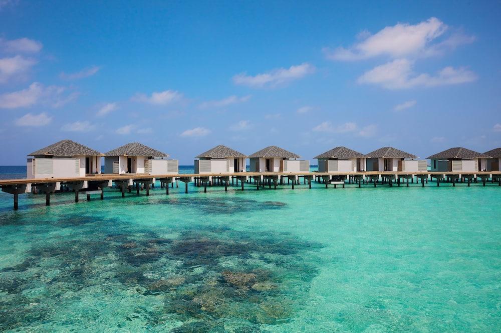 Villa, boven het water - Strand