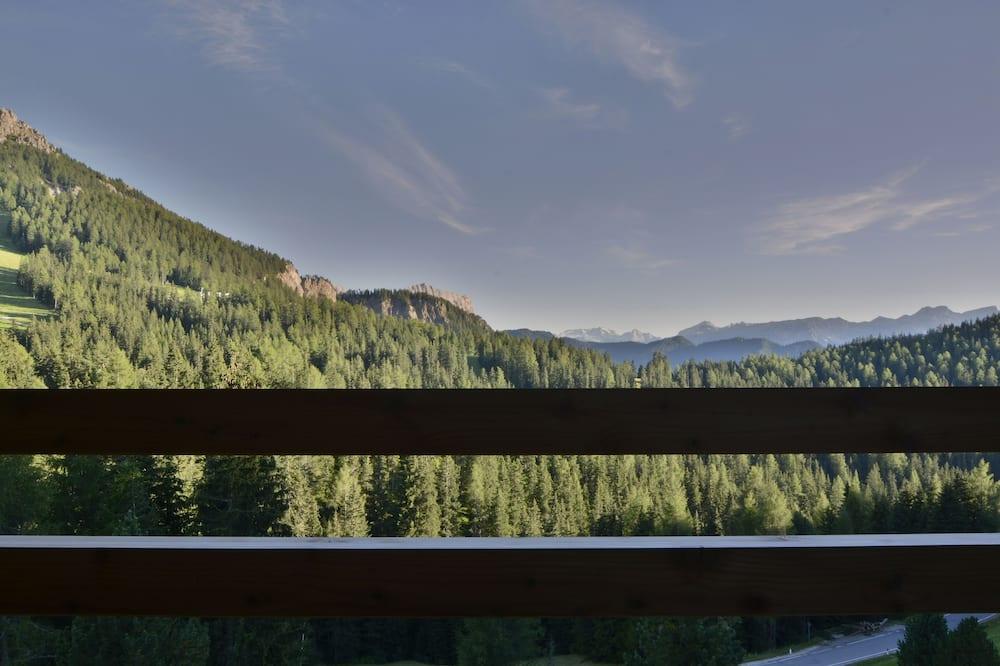 Panoramic Double Room, 1 Katil Kelamin (Double) dengan Katil Sofa, Balcony, Mountain View - Balkoni