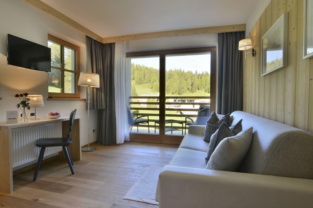Comfort Quadruple Room, 2 Bedrooms, 2 Bathrooms, Mountainside - Tempat Makan dalam Bilik