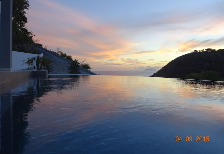 Sunset Villa Angel, St. Barthelemy, View from property
