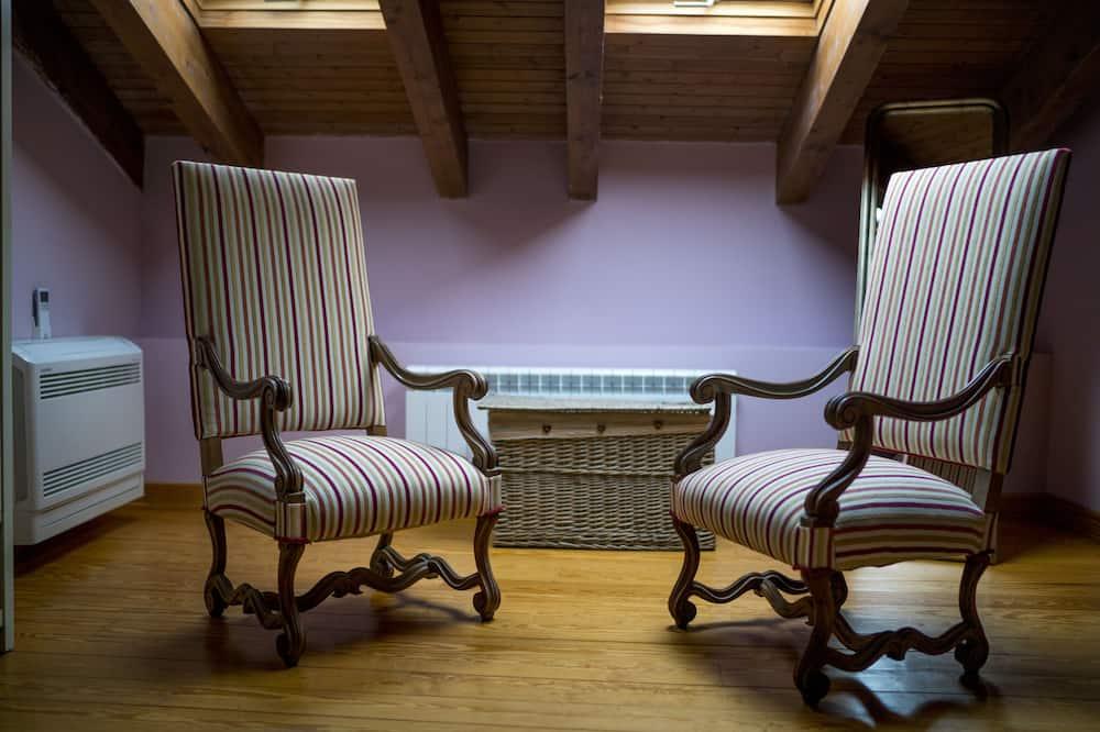 Double Room Single Use - Living Area