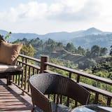 Numurs ar papildu ērtībām, balkons, skats uz kalniem (Mountain View - Open Air) - Balkons