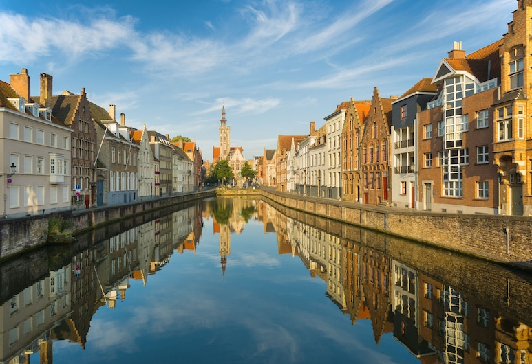 Hotel Van Eyck, Bruges, Vista a partir do Hotel