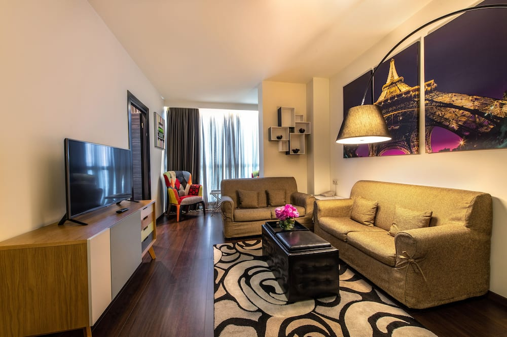 Executive Suite Single occupancy room - Wohnbereich