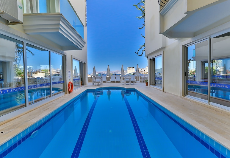 Linda Boutique Class Hotel, Kaş, Açık Yüzme Havuzu