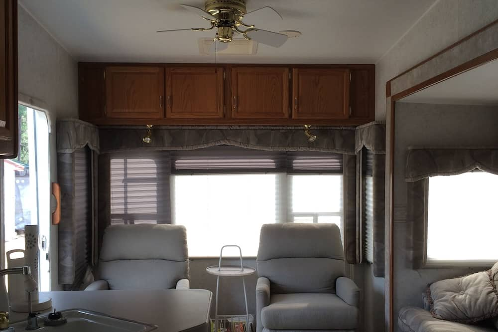 Casa móvil, Varias camas - Zona de estar