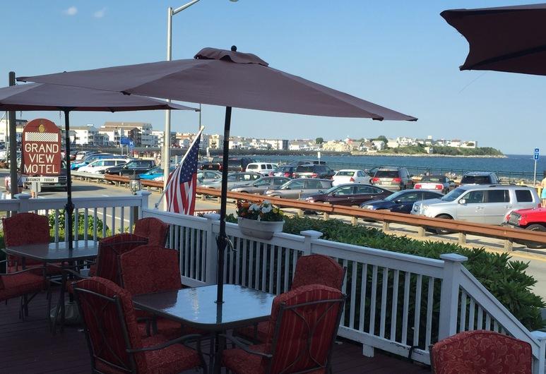 Grand View Motel, Hampton, Fachada del hotel