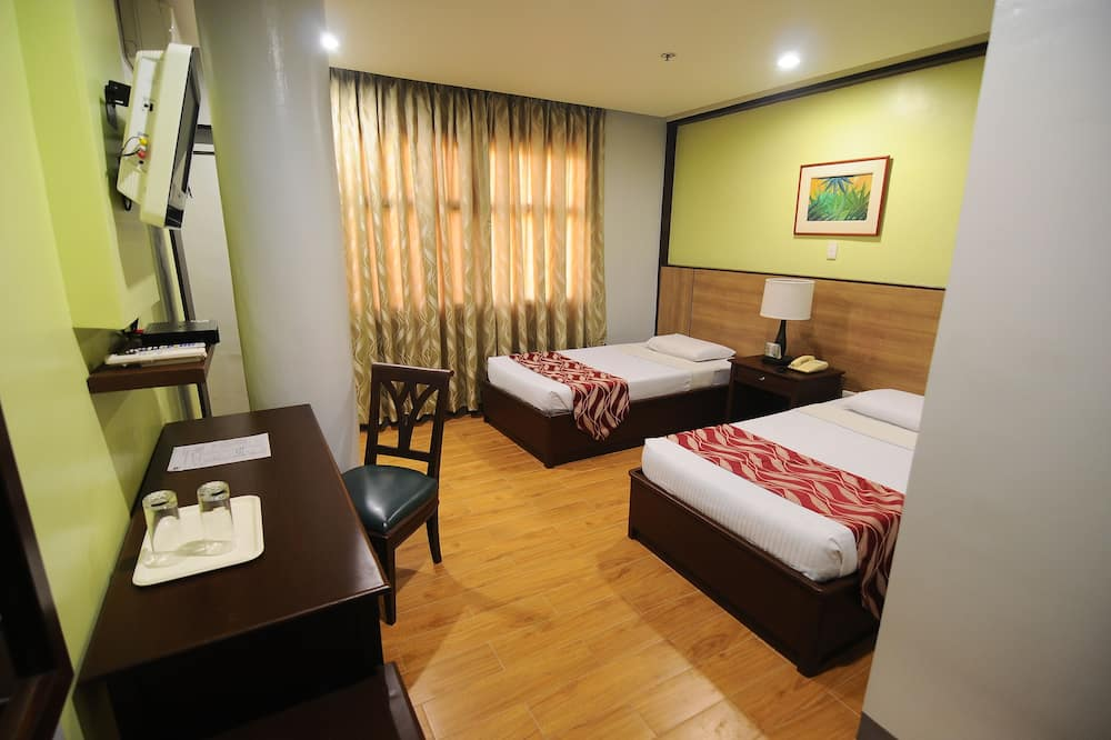 Deluxe Twin Room (2 single beds) - Bilik Tamu