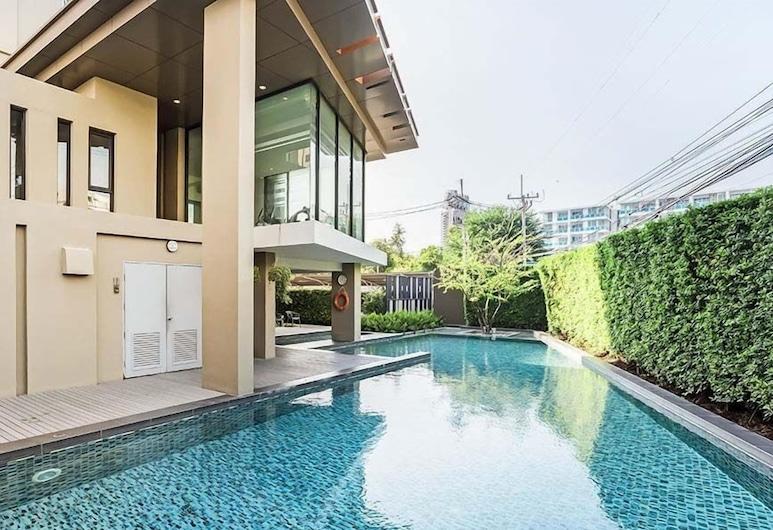 華欣穹頂班武里華欣 2 房海景酒店, Hua Hin, 室外泳池